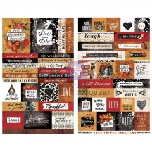 Prima Diamond Word & Quote Stickers 651633