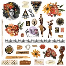 Prima Diamond Die-Cut Cardstock Ephemera 651640