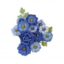 Prima Nature Lover Blue River Flowers 653002