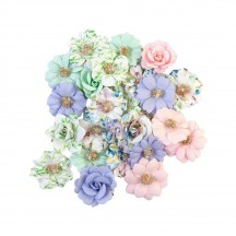 Prima Watercolor Floral Tiny Colors Flowers 653101