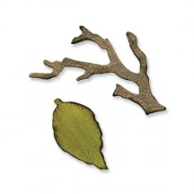 Sizzix Movers & Shapers Die Tim Holtz Alterations - Mini Branch & Leaf Set 657208