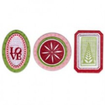 Sizzix Charms, Winter Framelits Stamp & Dies 658620