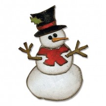 Sizzix Assembly Snowman Bigz Die - Tim Holtz Alterations - 658770