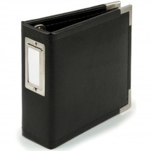 "We R Memory Keepers Instagram Albums Made Easy Black D-Ring 4""x4"" Faux Leather Album & Accessories"