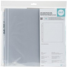 """We R Memory Keepers 12""""x12"""" Classic Album Refill Post Page Protectors 660151"""