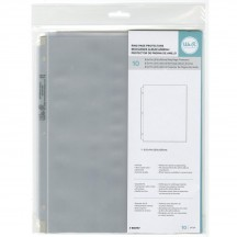 "We R Memory Keepers 8.5""x11"" Classic Album Refill Ring Page Protectors 660157"