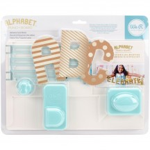 We R Memory Keepers Alphabet Punch Board 660889