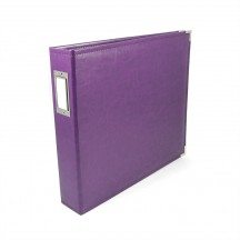 "We R Memory Keepers Grape Soda D-Ring 12""x12"" Faux Leather Album & Accessories 660908"