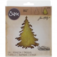 Sizzix Evergreen Bigz Die - Tim Holtz Alterations - 660985