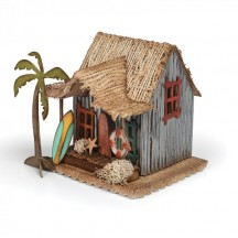 Sizzix Village Surf Shack Bigz Die - Tim Holtz Alterations - 661208