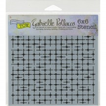 "The Crafters Workshop Gabrielle Pollacco Tile Mania 6""x6"" Template TCW662s"