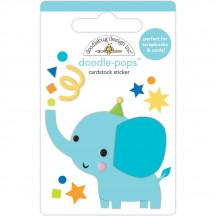 Doodlebug Party Time Tons of Fun Doodle-Pops Dimensional Sticker 6642