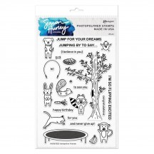 Ranger Simon Hurley Create Clear Stamp Set Trampoline Friends HUR67252