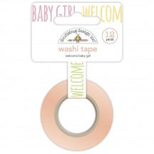 Doodlebug Bundle of Joy Welcome Baby Girl Decorative Washi Tape 6748