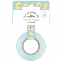 Doodlebug Special Delivery Rubber Duckies Decorative Washi Tape 6750