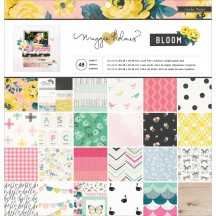 "Crate Paper Maggie Holmes Bloom Collection 12""x12"" Paper Pad 680429"