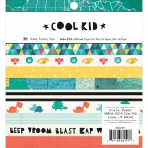 "Crate Paper Cool Kid 6""x6"" Paper Pad 36 Sheets 680491"