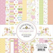 "Doodlebug Bundle of Joy 6""x6"" Paper Pad 6846"