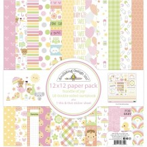 "Doodlebug Bundle of Joy 12""x12"" Paper Pack 6849"