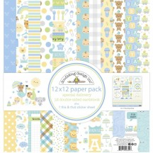 "Doodlebug Special Delivery 12""x12"" Paper Pack 6850"
