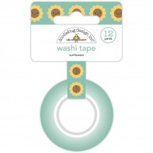 Doodlebug Pumpkin Spice Sunflowers Decorative Washi Tape 6926