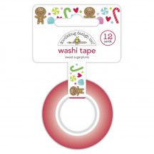 Doodlebug Night Before Christmas Sweet Sugar Plums Decorative Washi Tape 6930