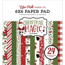 """Echo Park Christmas Magic Double-Sided 6""""x6"""" Paper Pad CM254023"""