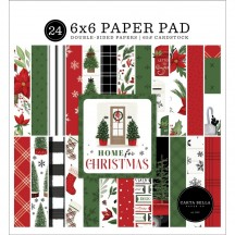 """Carta Bella Home for Christmas Double-Sided 6""""x6"""" Paper Pad HFC139023"""