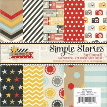 "Simple Stories Say Cheese II 6""x6"" Double-Sided Paper Pad 4322"