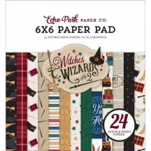 """Echo Park Witches & Wizards 2 Double-Sided 6""""x6"""" Paper Pad WIW247023"""