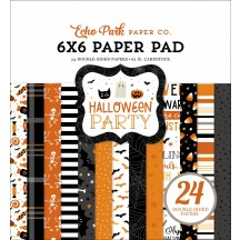 """Echo Park Halloween Party Double-Sided 6""""x6"""" Paper Pad HPA250023"""
