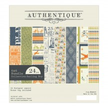 "Authentique Darling Boy 6""x6"" Bundle Double Sided Paper Pad DAB005"