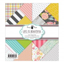 "Fancy Pants Life Is Beautiful 6""x6"" Paper Pad 36 sheets 2648"