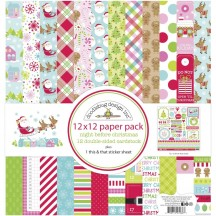 "Doodlebug Night Before Christmas 12""x12"" Paper Pack 7038"