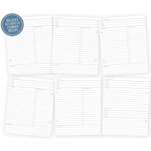 Simple Stories Life Documented Daily Planner Inserts 7045