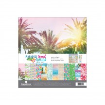 "Paper House Paradise Found Florida 12""x12"" Paper Crafting Kit KTSP1057"