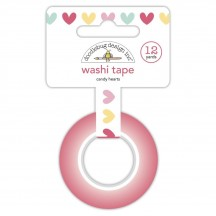 Doodlebug Made With Love Candy Hearts Decorative Washi Tape 7087