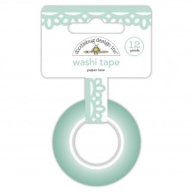 Doodlebug Made With Love Paper Lace Decorative Washi Tape 7088