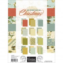 Couture Creations A4 Let Everyday Be Christmas Paper Pad CO725490