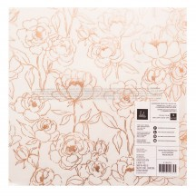 "Heidi Swapp Carefree 12""x12"" Speciality Champagne Gold Foil Vellum 315674"