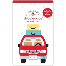 Doodlebug Fun at the Park Are We There Yet Doodle-Pops Dimensional Stickers 7305