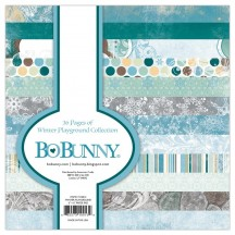 "Bo Bunny Winter Playground 6""x6"" Paper Pad 7310013"