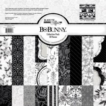 "Bo Bunny Black Tie Affair 12""x12"" Collection Pack 7310143"