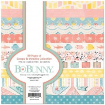 "Bo Bunny Escape To Paradise 6""x6"" Paper Pad 7310246"