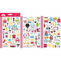 Doodlebug Fun at the Park Mini Icons Cardstock Stickers 7313