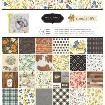 "Pebbles Jen Hadfield Simple Life 12""x12"" Paper Pad 733525"
