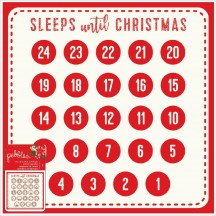"Pebbles Cozy & Bright 12""x12"" Christmas Advent Calendar 733944"