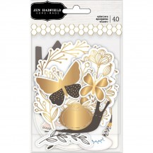 Pebbles Jen Hadfield Along The Way Icon Ephemera Die-Cut Cardstock Shapes 733974