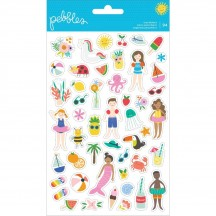 Pebbles Oh Summertime Tiny Planner Stickers 734087