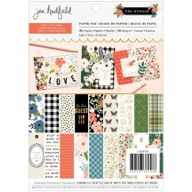 "Pebbles Jen Hadfield The Avenue 6""x8"" Paper Pad 736958"